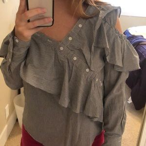 Brand new with tags off shoulder blouse size small